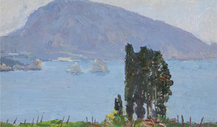 Е-каталог живопису Віктора Єфименко
