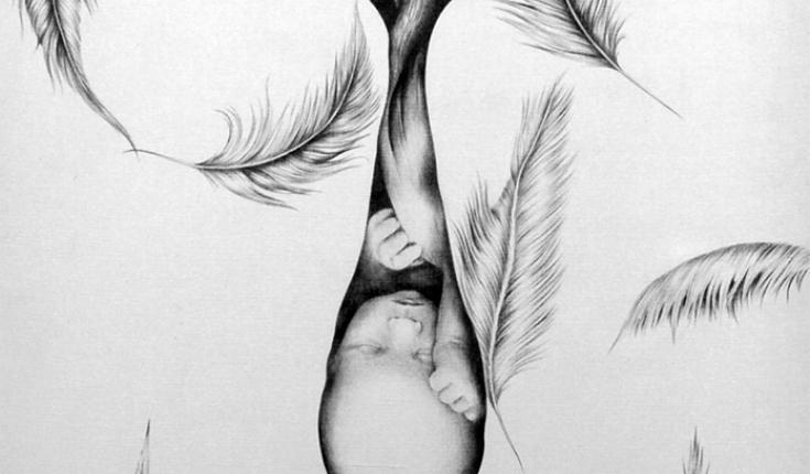 Birth, Pen Graphic Arts, 80х55