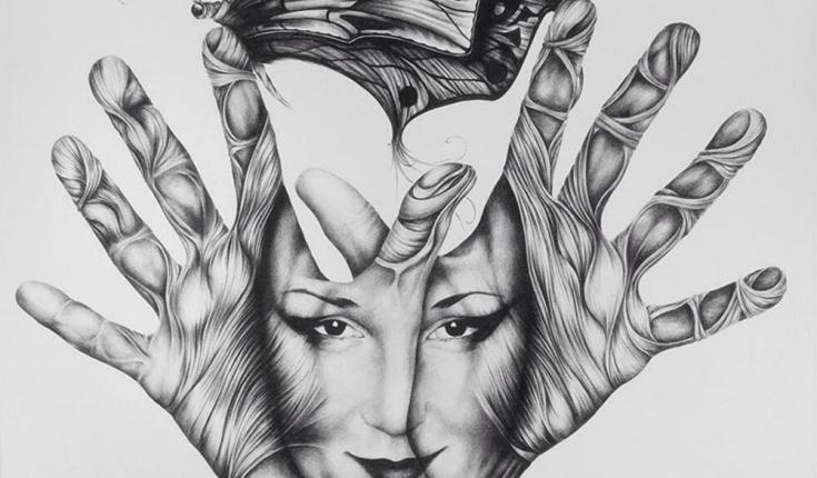 Memory, Pen Graphic Arts, 62х62