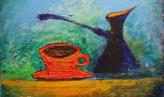 Чашка кофе. Амстер.